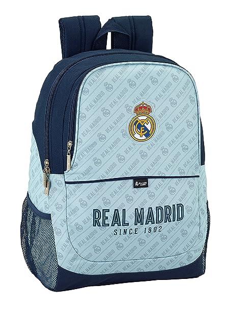 Safta Mochila Escolar Real Madrid Corporativa Oficial 320x160x440mm