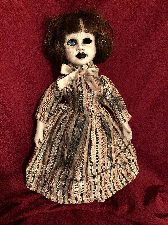 OOAK Vein面Creature Creepyホラー人形アートby Christie creepydolls   B07BPHD131