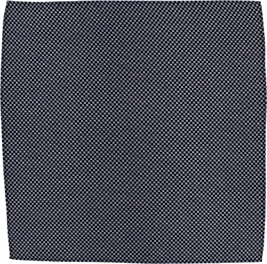 Cuadrado de bolsillo de algodón, diseño cuadrado, color blanco: Amazon.es: Ropa y accesorios