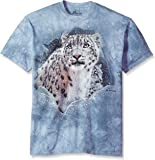 The Mountain Unisex Adult Fortress Leopard Animal T Shirt