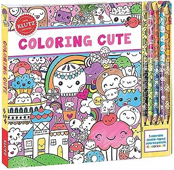 Amazon.com: Klutz Coloring Cute Toy: Editors of Klutz, Scholastic ...