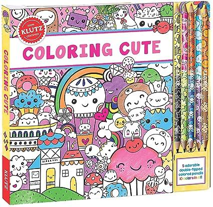 Amazon Com Klutz Coloring Cute Toy Editors Of Klutz Scholastic