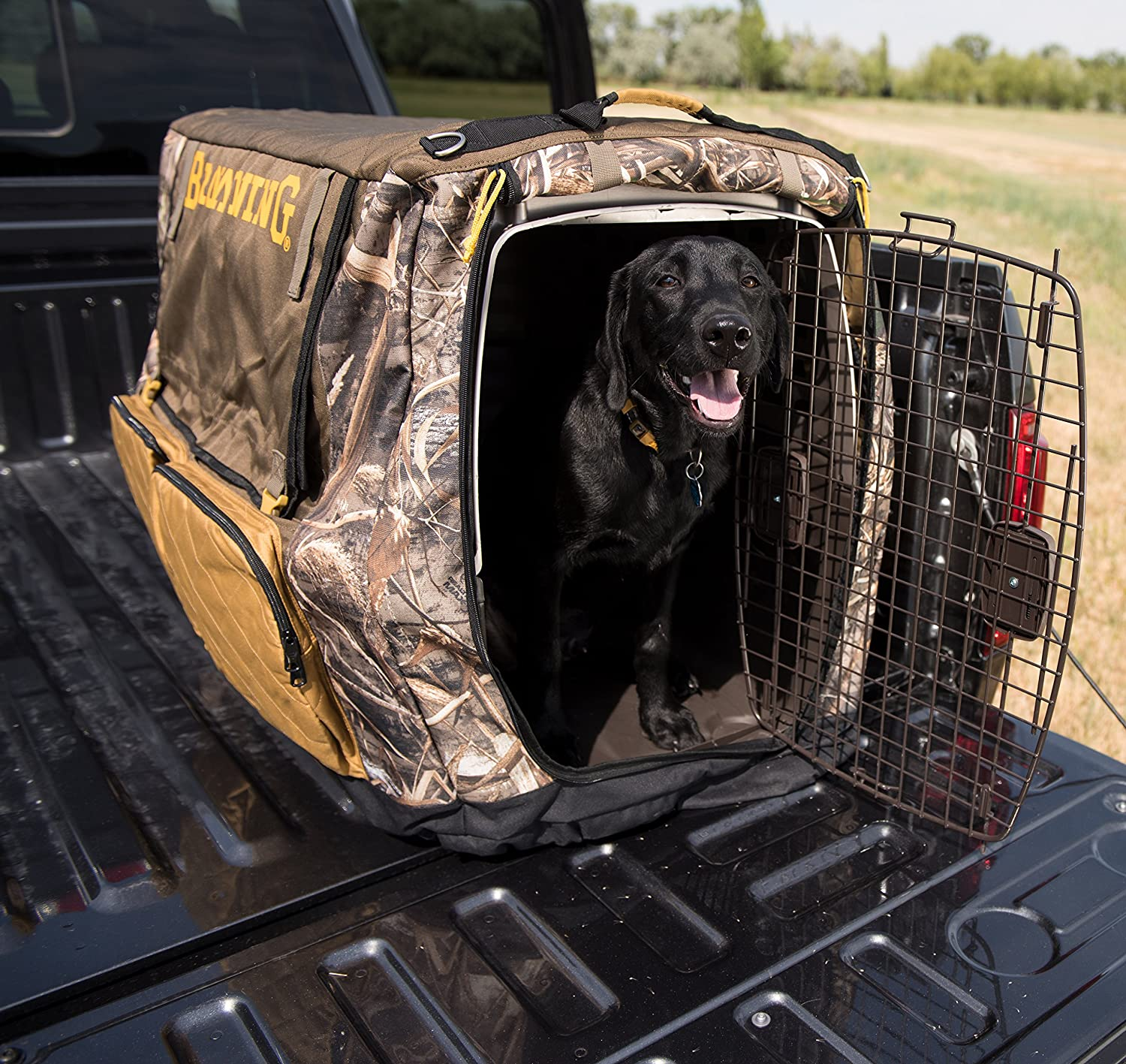 Realtree Max Browning Insulated Crate Cover Camo Dog Crate Cover Insulated