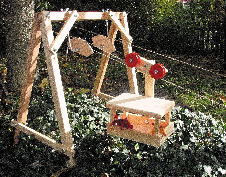Walter Kraul Gmbh Kraul Große Seilbahn Stütze Für Ein Oder Zwei Spielzeug
