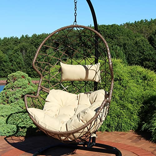 Sunnydaze Lorelei Hanging Egg Chair