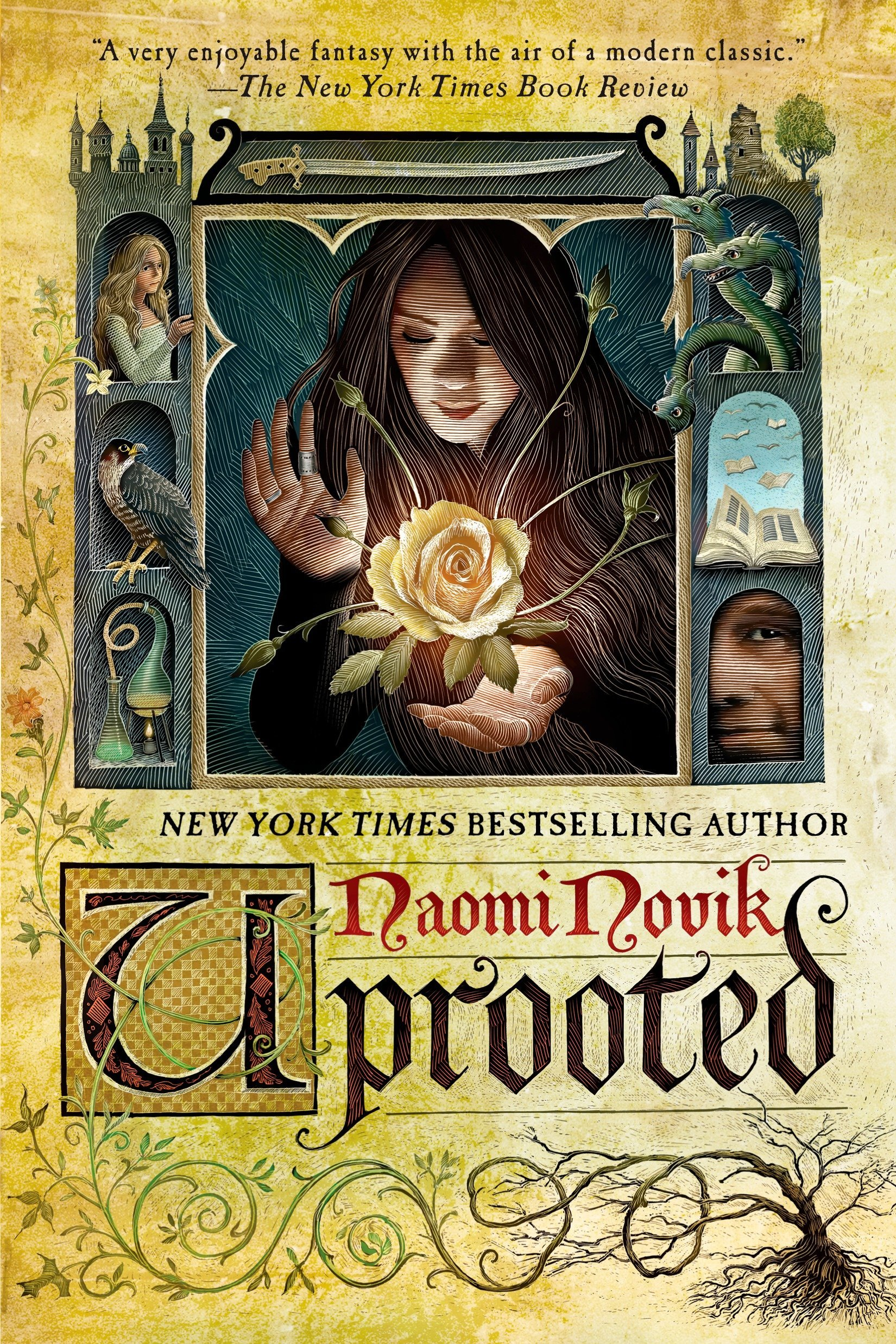 Image result for uprooted naomi novik