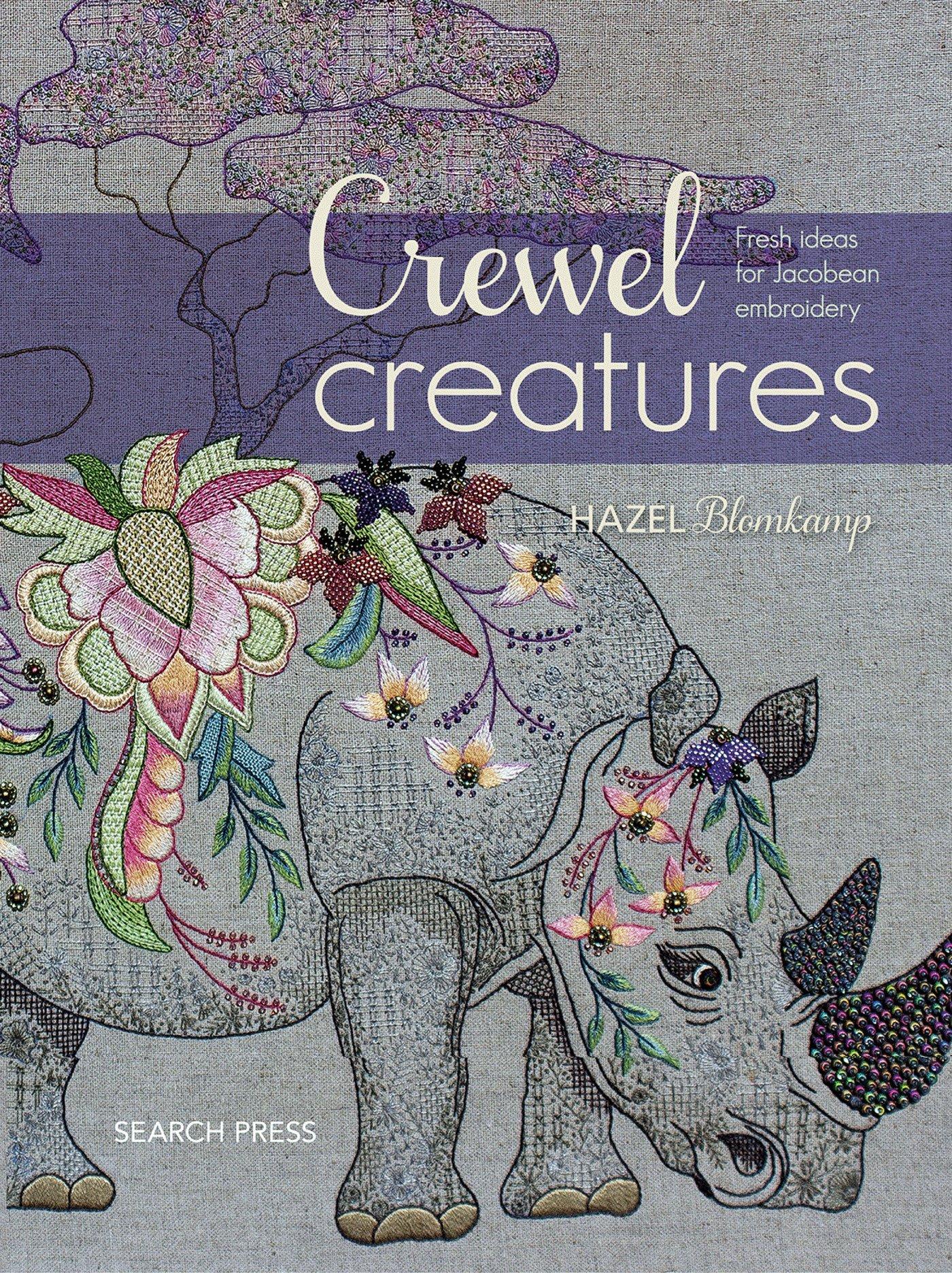 Crewel Creatures Hazel Blomkamp 9781782215257 Amazon Books