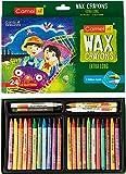 Camlin Kokuyo Extra Long Wax Crayons - 24 Shades