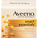Aveeno Smart Essentials Nighttime Moisture Infusion, 1.7 Oz (Pack of 3)