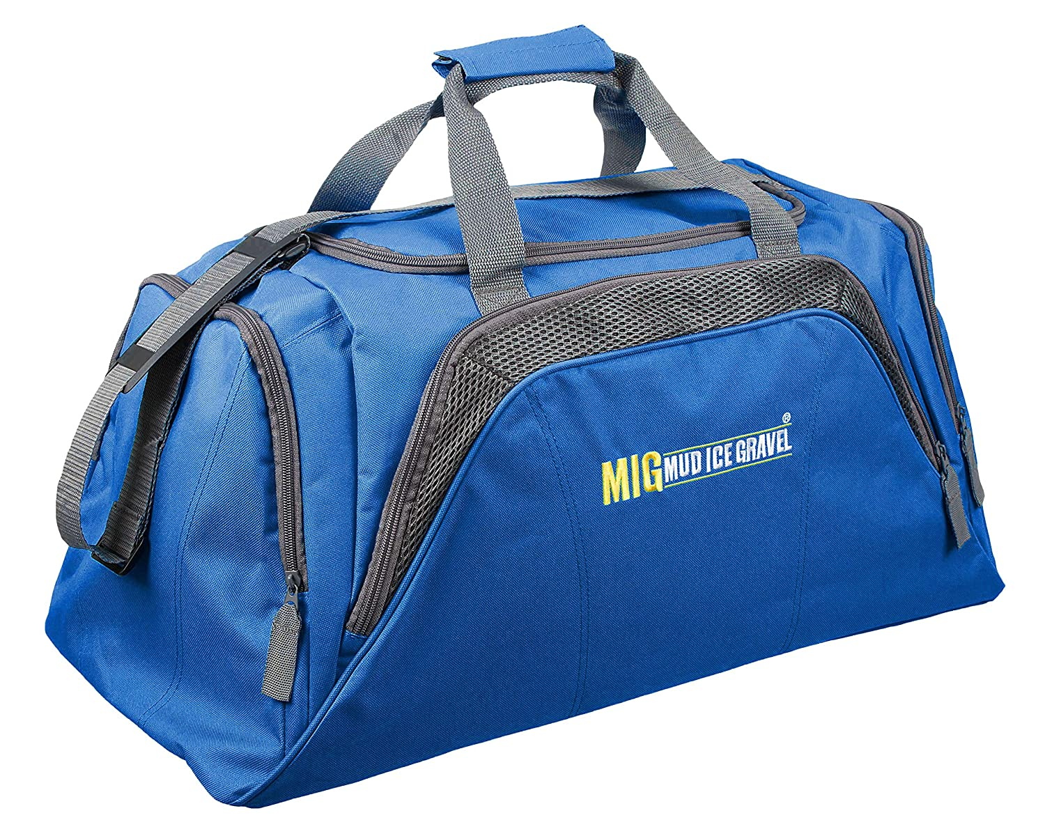 Mens Large Blue Sports & Gym Duffle Holdall Bag SPORTS TRAVEL WORK