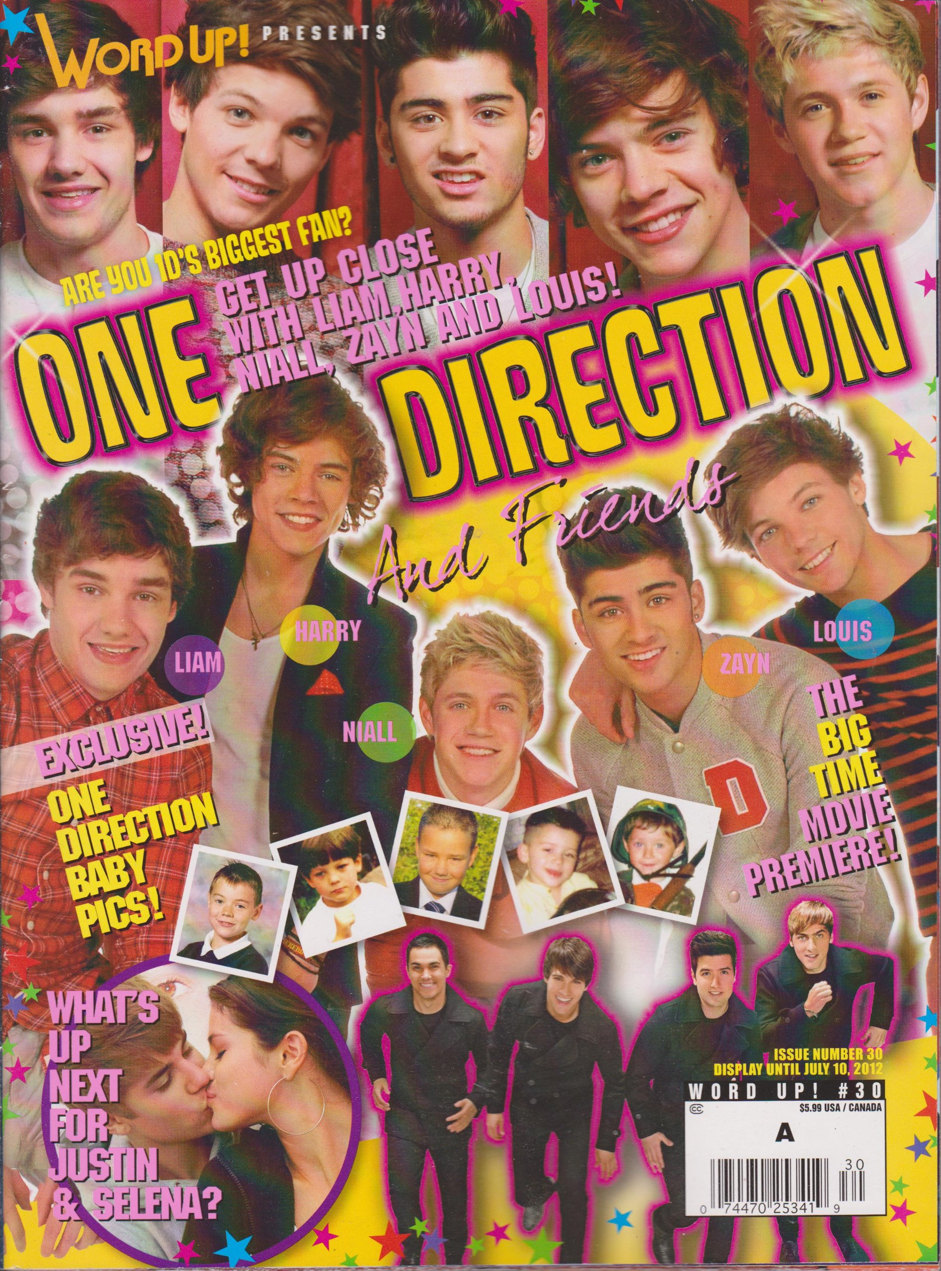 Word up Presents One Direction and Friends (Number 30 2012) pdf epub