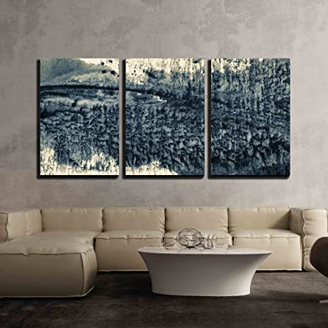 Amazon.com: wall26 - 3 Piece Canvas Wall Art - Abstract Painted ...