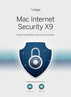 Intego Mac Internet Security X9 - 1 Mac - 1 year protection [Download]