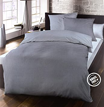 Schlafgut Bettwäsche Set Casual Cotton Jersey Baumwolle 135 X 200
