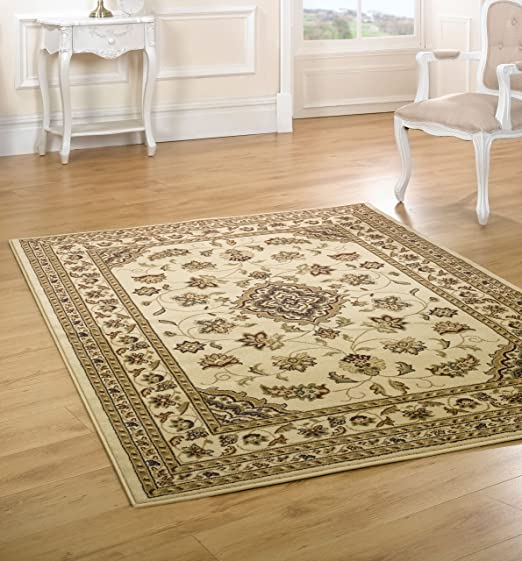 Lord Of Rugs Quality Traditional Classic Sherborne Beige Large Rug 160x230cm 5 3 X7 7 Beige Carpet Amazon Co Uk Kitchen Home