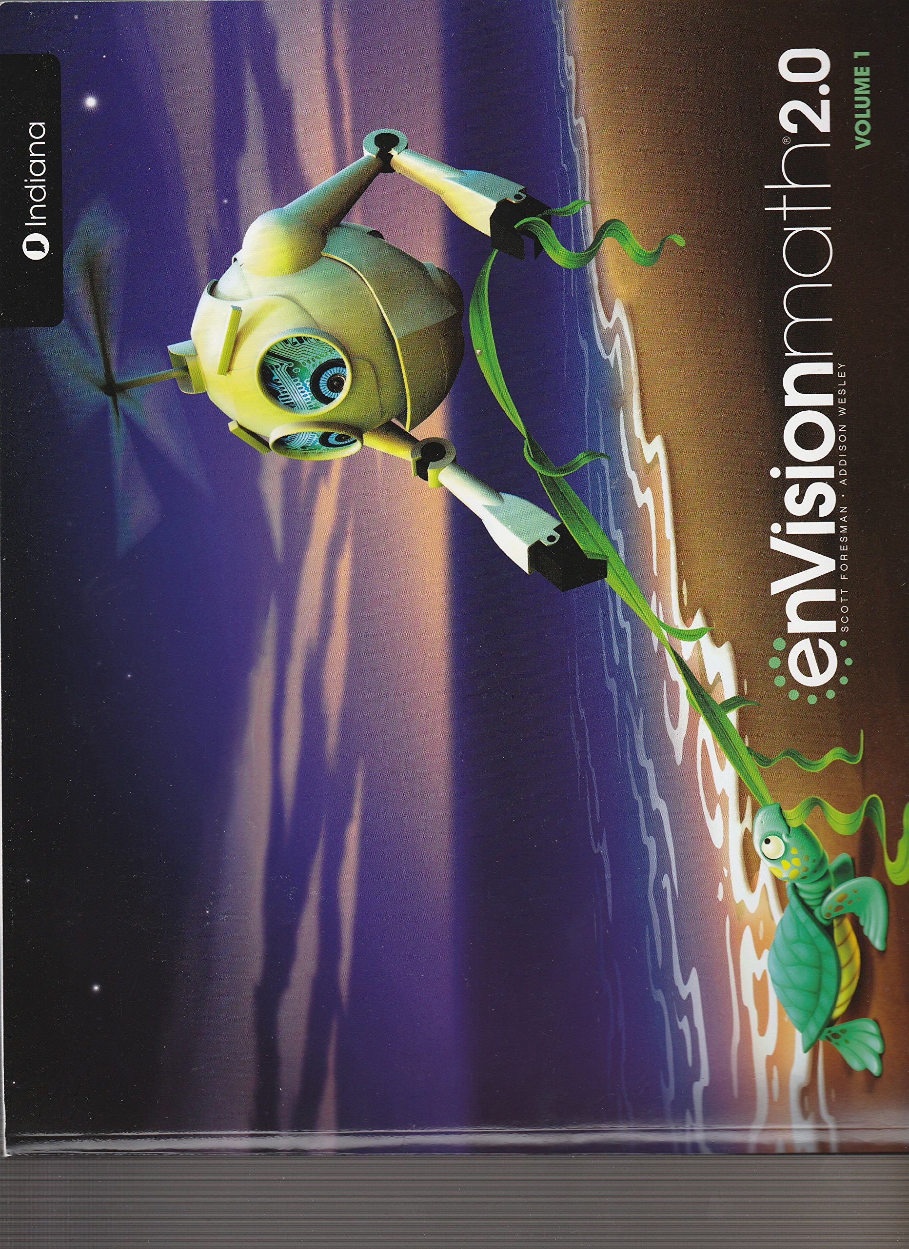enVisionmath 2.0, Gr. K, Vol. 1, topics 1-8, Indiana pdf