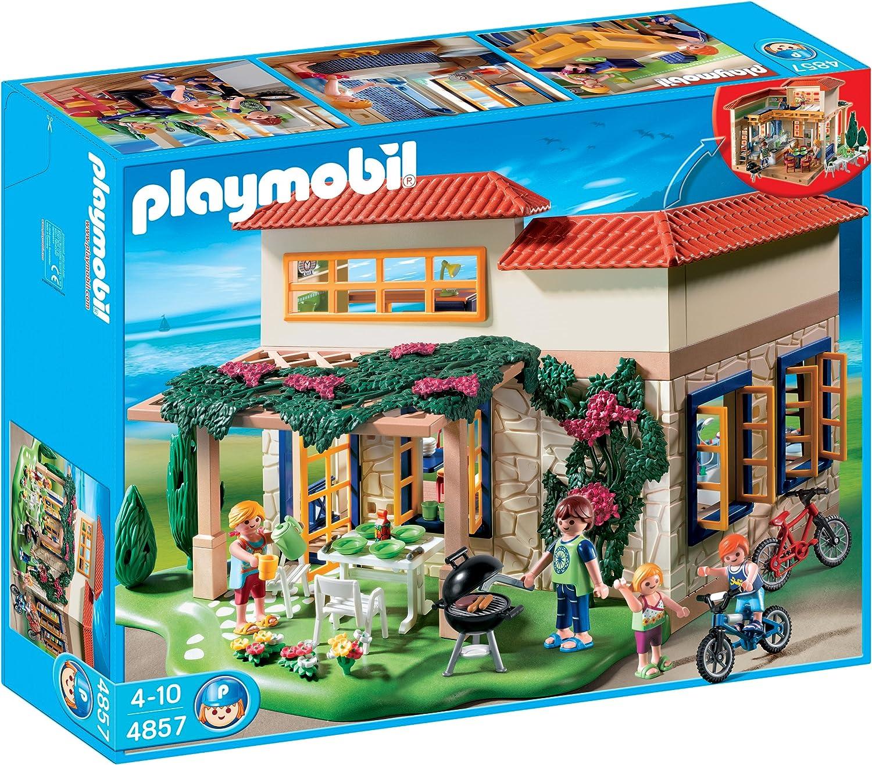 PLAYMOBIL - Casita de Verano, Set de Juego (4857)