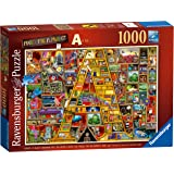 "Ravensburger 19771 Colin Thompson Awesome Alphabet ""A"" 1000pc Jigsaw Puzzle"