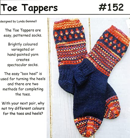 Amazon Cabin Fever Knitting Pattern 152 Toe Tappers Easy