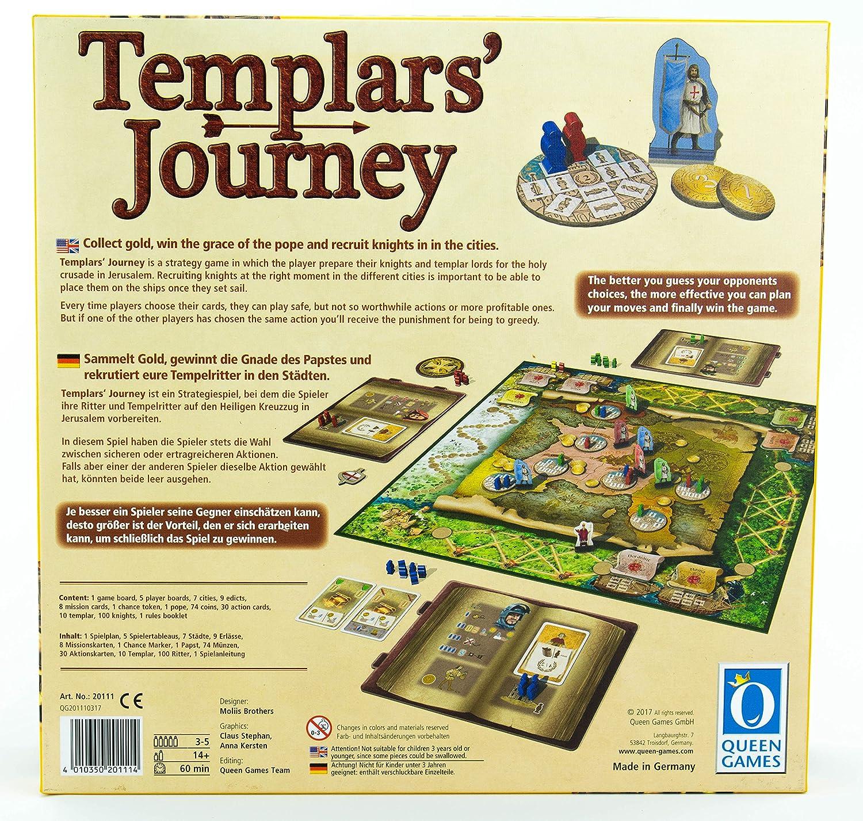 20111 Templars Journey English Games Deutsch Queen Juguetes Y Juegos MzVSpGqU