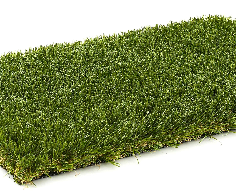 - 2,00 m x 1,00 m DIN 53387 2369 g//m/² Rollrasen Gewicht ca Kunstrasen Rasenteppich Greenlife f/ür Garten UV-Garantie 12 Jahre Kunststoffrasen Florh/öhe 30 mm