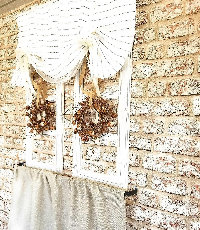 Amazon.com: Kitchen Curtains, Striped Curtains, Linen ...