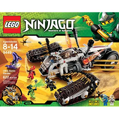 LEGO Ninjago Ultra Sonic Raider Set 9449: Toys & Games