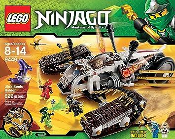 LEGO Ninjago Ultra Sonic Raider establece 9449: Amazon.es ...