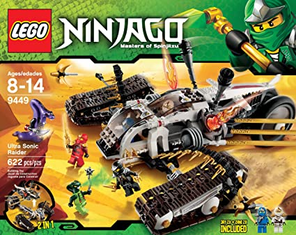 LEGO Ninjago Ultra Sonic Raider establece 9449: Amazon.es ...