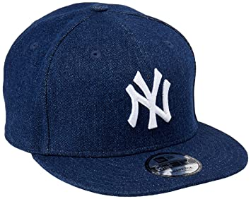 New Era Mujeres Gorras / Gorra Snapback Denim Essential NY Yankees