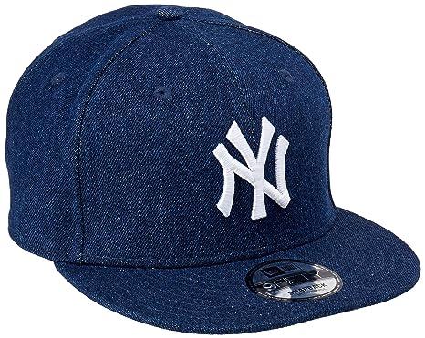 New Era Men Caps Snapback Cap Denim Essential NY Yankees Blue S M   Amazon.co.uk  Clothing 7e8bc8b9c5b0