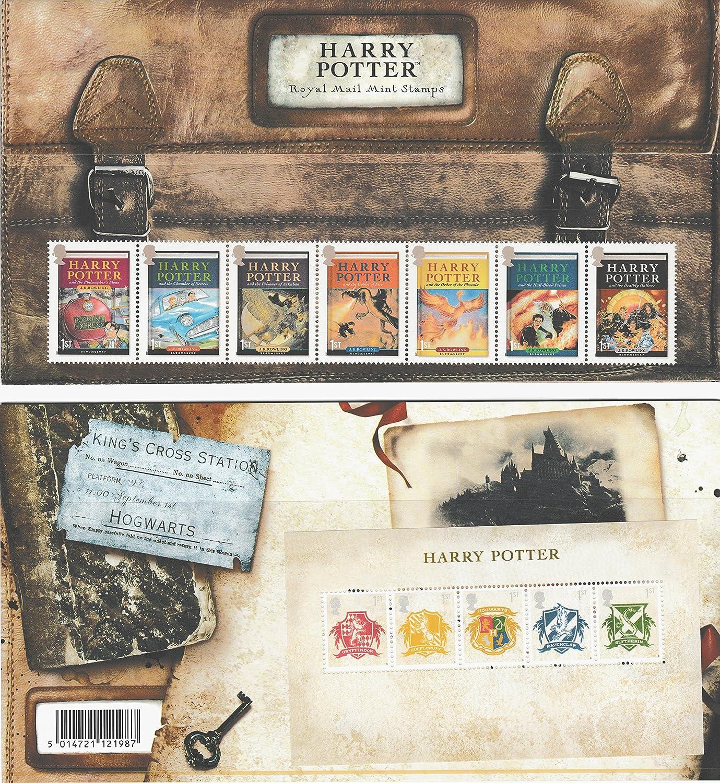 Harry Potter Stamps, Presentation Packs, Mini Sheet, PHQ/Postcards ...