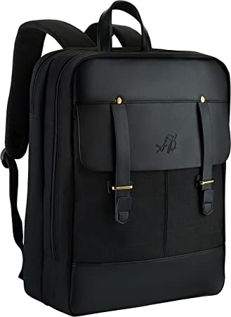 "Amazon.com: Best Slim Laptop Backpack - 18"" Multi Compartment ..."