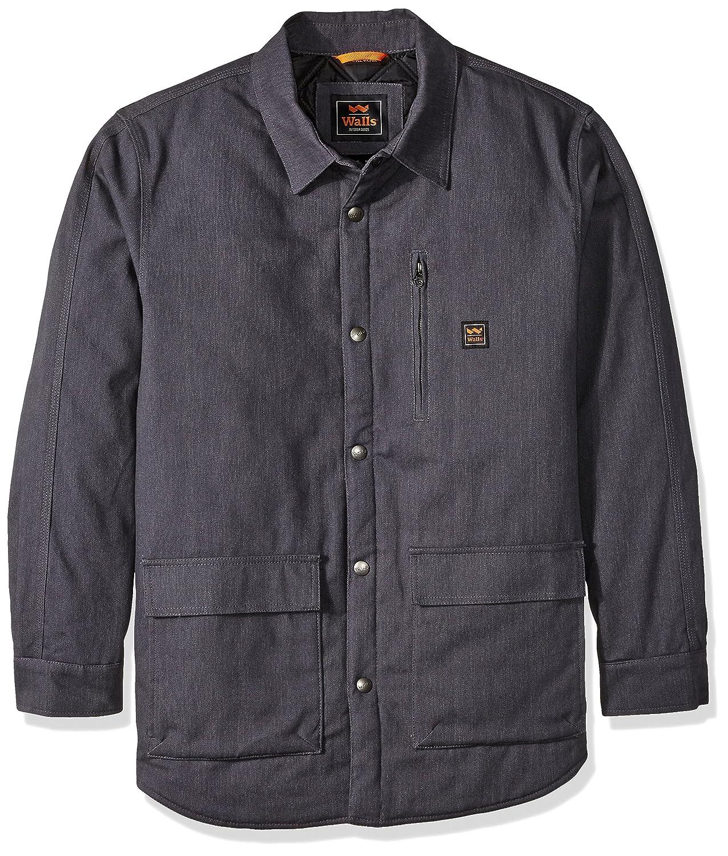 壁メンズLumberton jack-shirt with Kevlar B01HNDWBWG M|黒鉛 黒鉛 M