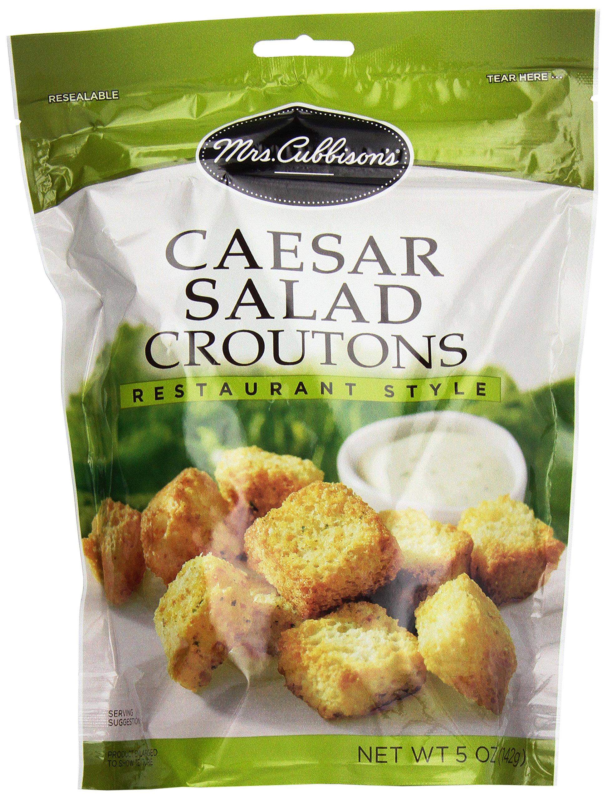 Mrs. Cubbison's Restaurant Style Croutons, Caesar Salad, 5 oz