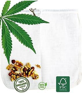 Cáñamo bolsa para leche vegetal Ecocasa - la alternativa ecológica por fabricar leche de…