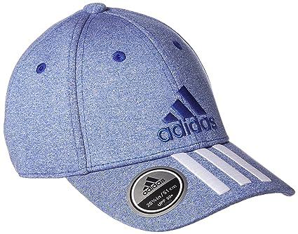 adidas Mens 6P 3S Melan Cap, Blue (Reauni/White/Reauni),
