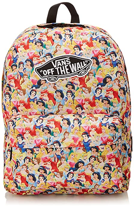 Vans G Disney Backpack - Mochila para Mujer, Color Multi Princess, Talla única: Amazon.es: Zapatos y complementos