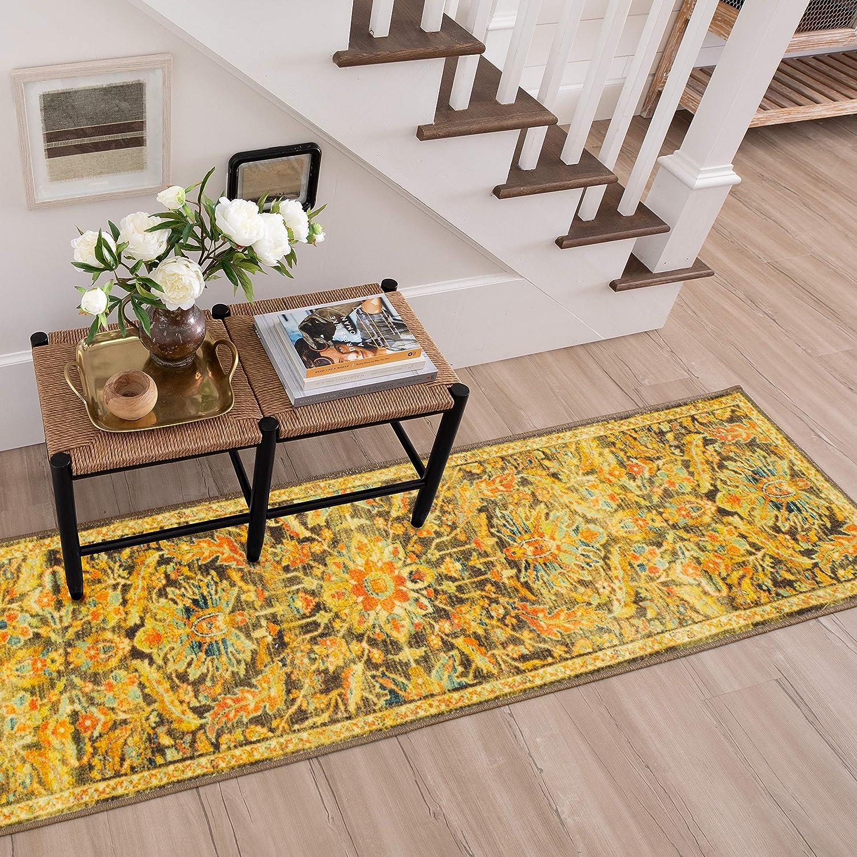 Mohawk Home Elizabeth Multi Floral Ornamental (2' 5