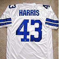 Cliff Harris Signed Custom Jersey - Dallas Football Hall of Famer photo