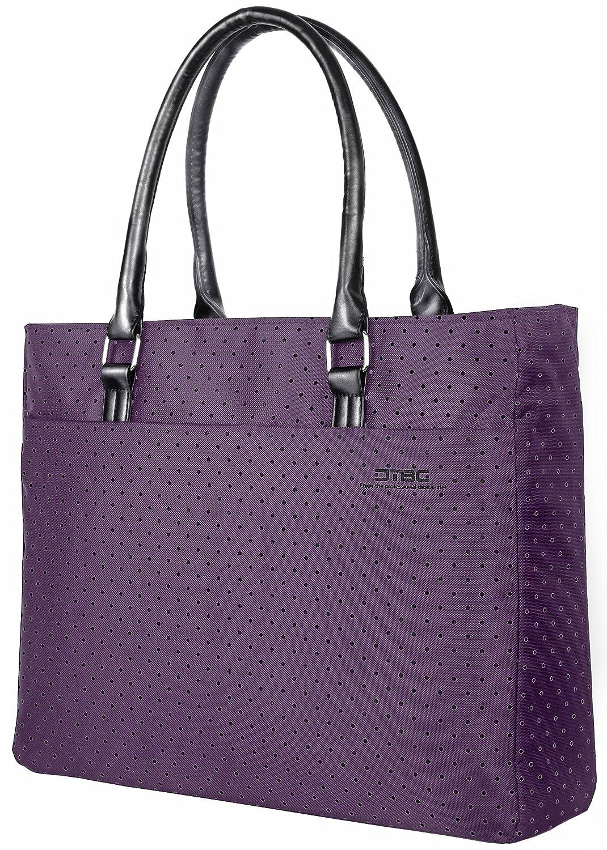 Laptop Tote Bag, DTBG 15.6 Inch Women Shoulder Bag Nylon Briefcase Casual Handbag Laptop Case for 15-15.6 Inch Tablet/Ultra-Book/MacBook / Chromebook Variation