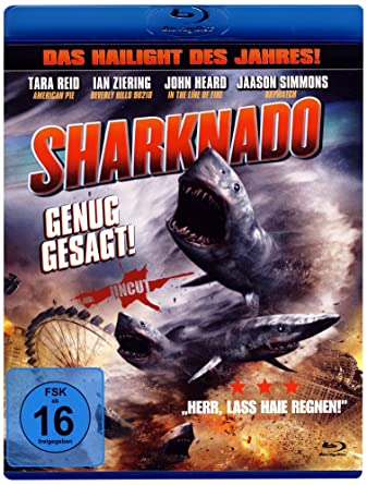 Sharknado - Shark Storm Blu-ray Alemania Blu-ray: Amazon.es: Tara ...
