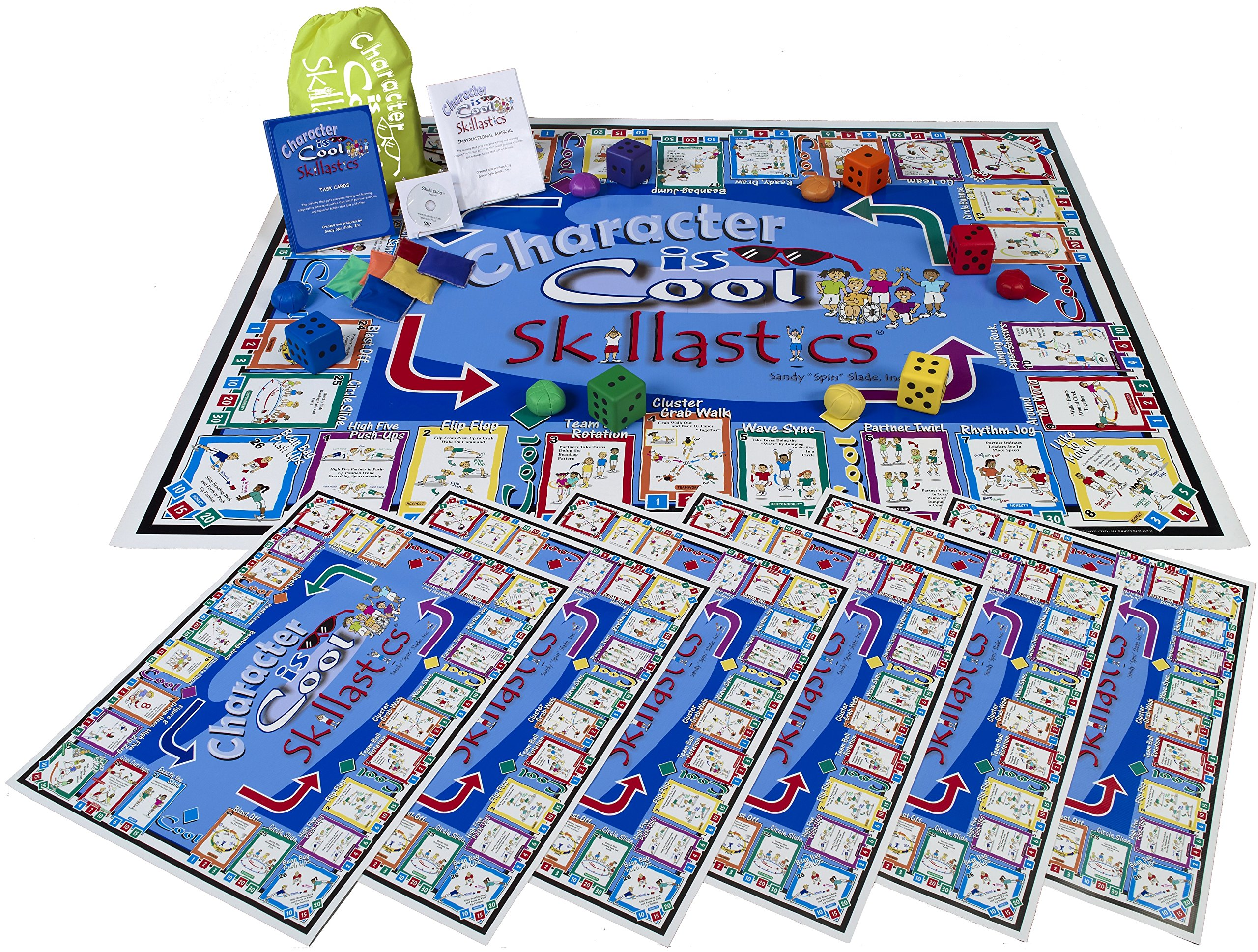 Character is Cool Skillastics - Large Group Activity That Enhances Social, Emotional, and Cooperative Learning
