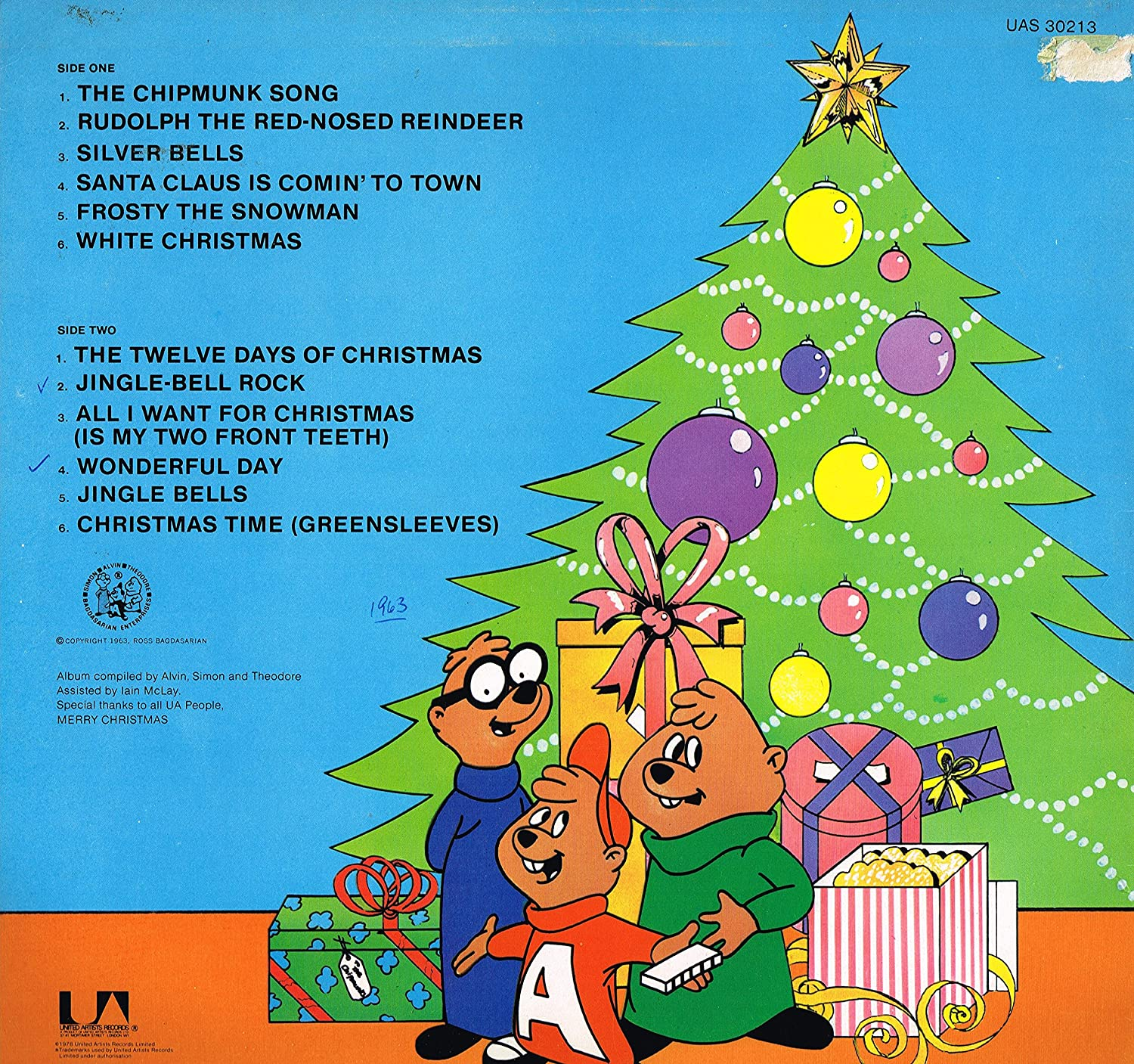 christmas with the chipmunks LP: Amazon.co.uk: Music