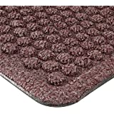 "Notrax 150 Aqua Trap Entrance Mat, for Main Entranceways and Heavy Traffic Areas, 2' Width x 3' Length x 3/8"" Thickness, Burgundy"