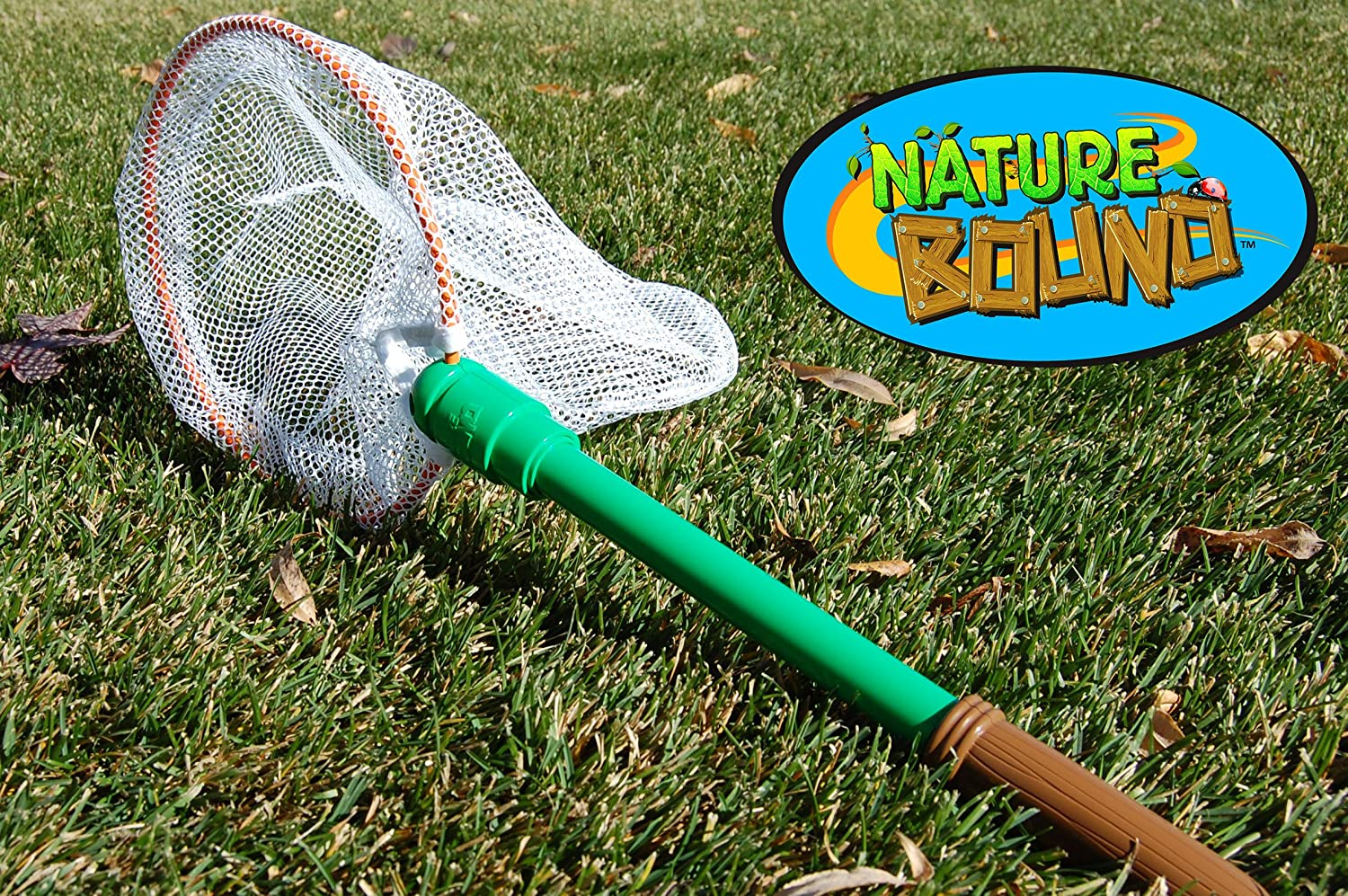 Nature Bound Bug /& Butterfly Net with Nylon Netting and Floating Handle Toy