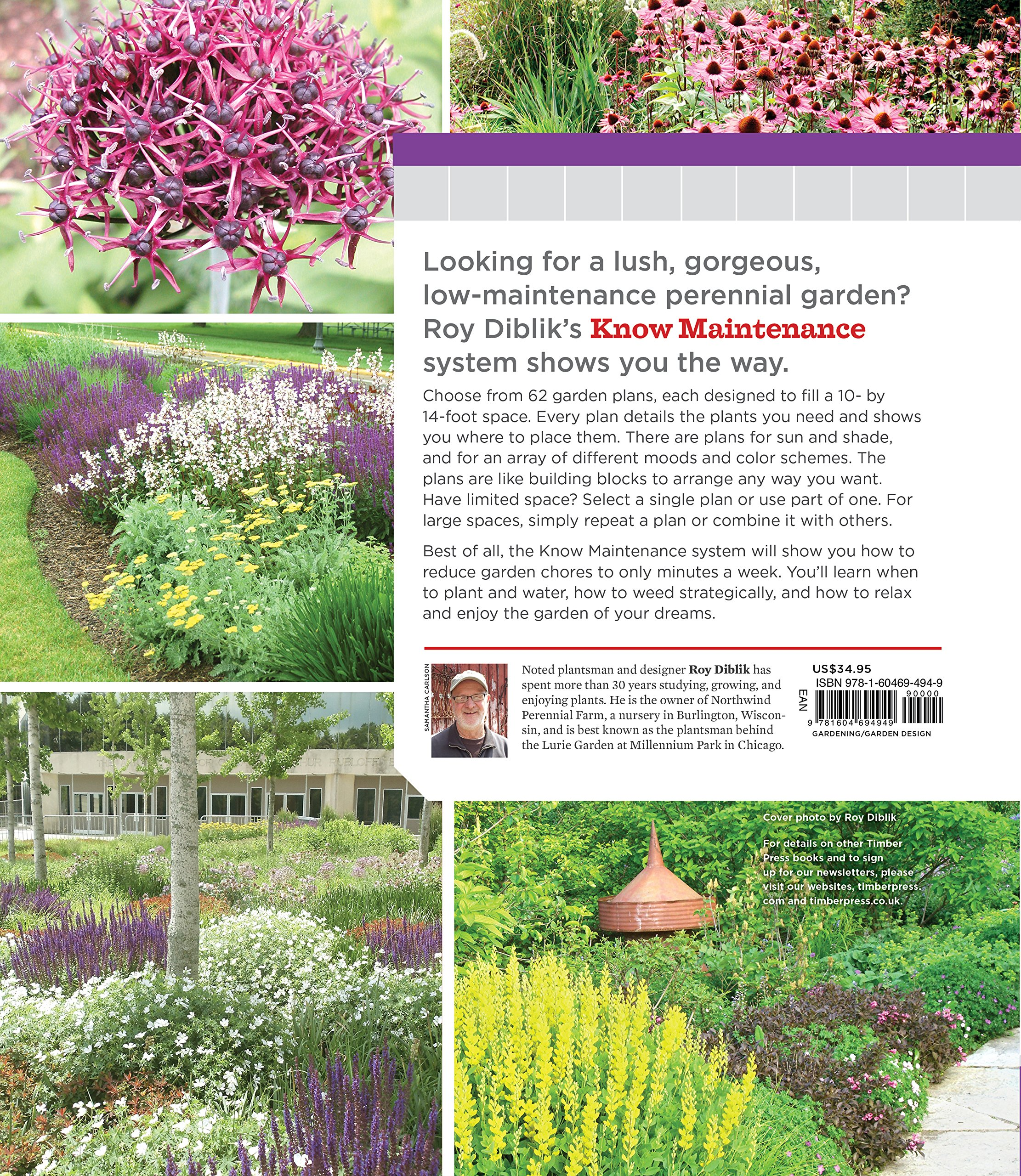 The Know Maintenance Perennial Garden Diblik Roy 9781604693348