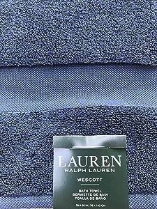 Lauren Ralph Lauren Bath Wescott Towel Club Navy