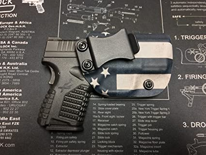 Amazon com : Springfield Armory XDS 3 3 (9/40/45) Custom Kydex