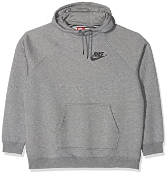 Nike Rally, Sudadera con capucha para Mujer, Gris (Carbon Heather/Cool Grey/Black), L: Amazon.es: Deportes y aire libre